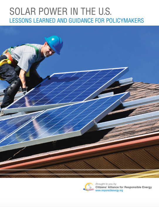 Solar Power in the U.S.: Lessons Learned and Guidance for Policymakers